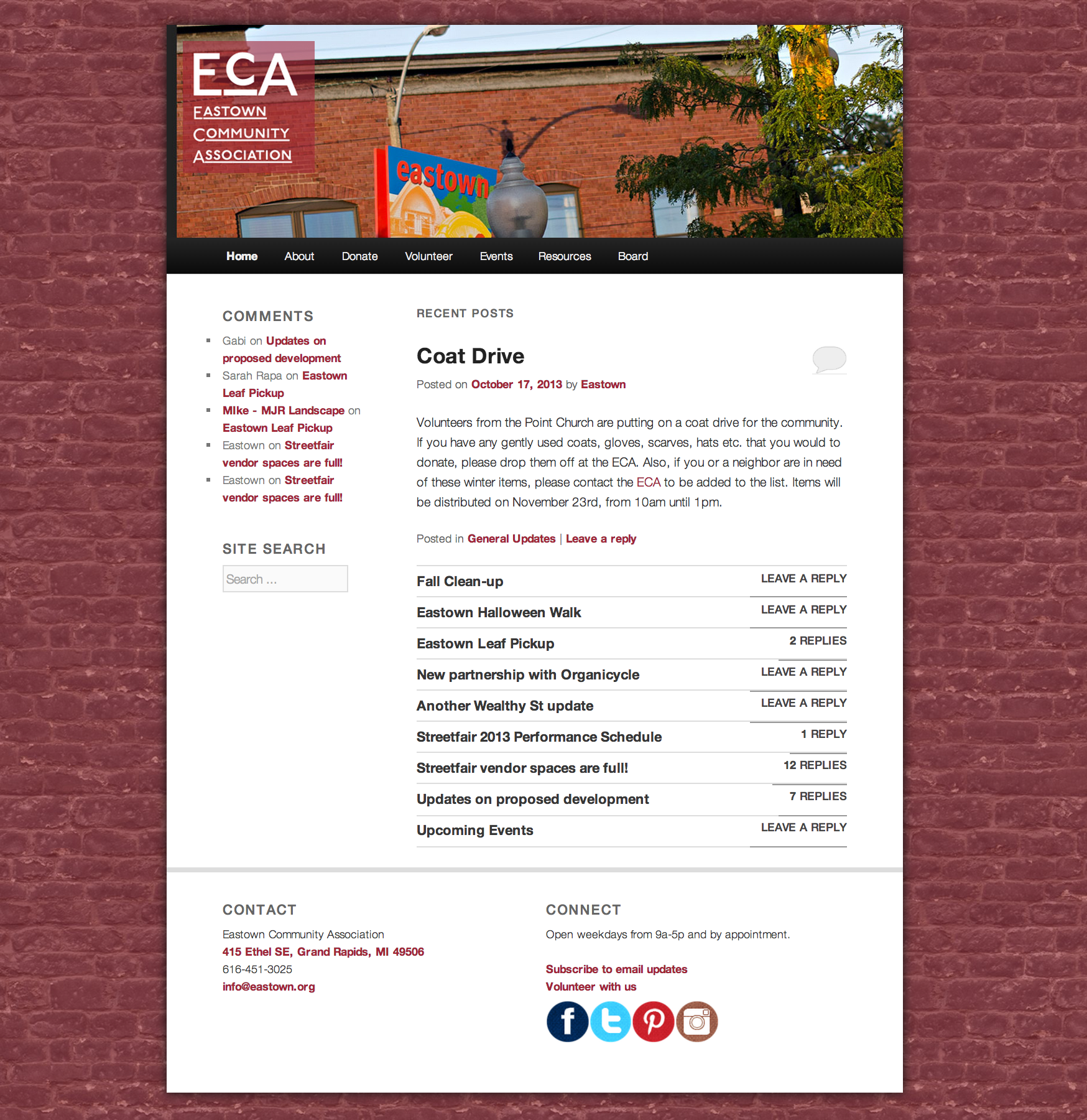 ECA Website 2012